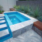 concrete spa pools